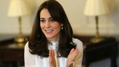 Duquesa de Cambridge quiere promover la salud mental en niños