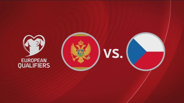 Montenegro 0-3 República Checa - Resumen y Goles - Grupo A - Clasificatorio Eurocopa 2020
