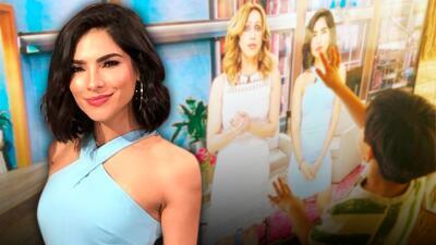 ¿Cómo reaccionaría tu hijo si te ve en TV?: esto hizo el de Alejandra Espinoza y causó una ola de comentarios de famosos