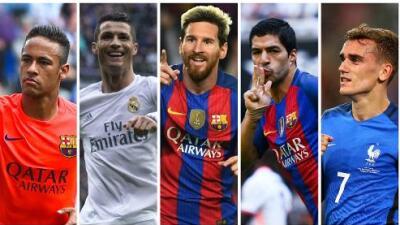 FIFA ya tiene a los 23 candidatos al premio 'The Best', galardón que suple al Balón de Oro