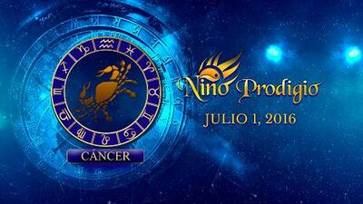 Niño Prodigio - Cáncer 1 de Julio, 2016