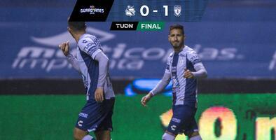 Con más polémica que futbol, Pachuca derrotó al Puebla