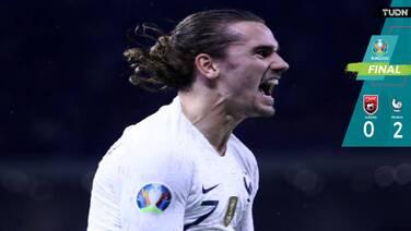 Francia venció a Albania y será cabeza de serie