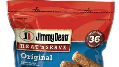 Miles de salchichas Jimmy Dean que podrían contener trozos de metal son retiradas del mercado