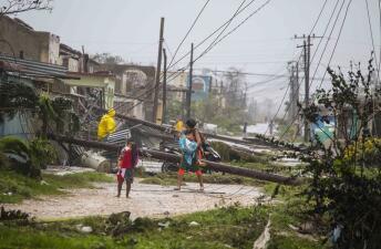 FOTOS: Destrozos e inundaciones en Cuba por el paso Irma
