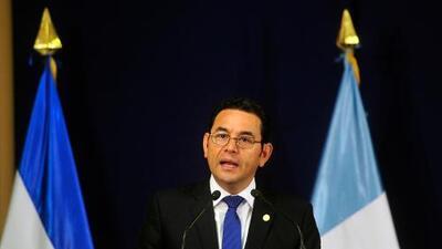 Guatemaltecos enojados con el Presidente Jimmy Morales por comentario discriminatorio