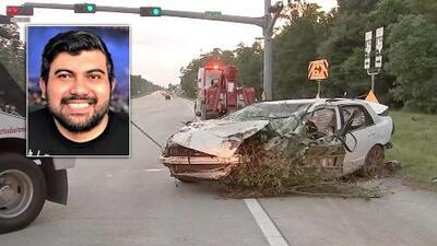 """""""Estoy aquí, alguien ayúdeme"""": un hispano sobrevive tras cinco días atrapado en su auto volcado en una zona boscosa"""