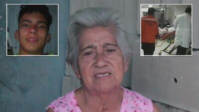 Abuela del adolescente que quedó ciego durante protesta en Venezuela comparte su dolor ante la tragedia