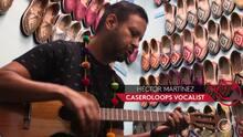 Live at U-LAB: Caseroloops show us the national Venezuelan instrument