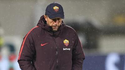 Acabó Roma la película para Di Francesco: cesado por eliminación en Champions