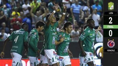 León impone marca de club con 8 victorias consecutivas