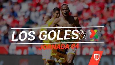 Revive los goles de la Jornada 4 del Clausura 2019