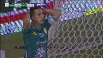 ¡Perdona Navarro! León se quedó muy cerca de abrir el marcador
