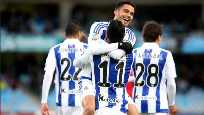 Real Sociedad 1-1 Levante: Diego Reyes anotó en empate de la Real Sociedad