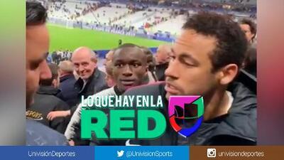 """""""Aprende a jugar"""", lo que dijo el aficionado al que Neymar tiró el manotazo"""