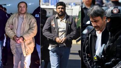 EN FOTOS: El 'Chapo' Guzmán y otros capos del narcotráfico condenados en Estados Unidos