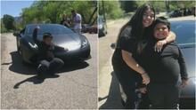 Siguen las sorpresas para  el niño que fue detenido conduciendo el SUV  de su mamá porque quería ir a comprar un Lamborghini