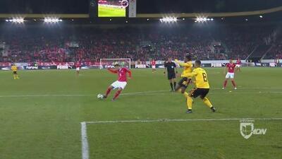 ¡Lluvia de goles y un gran partido! Seferovic hace doblete y le da la vuelta a Bélgica