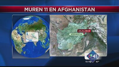 Texanos entre víctimas de choque aéreo en Afganistán