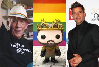 #LoveWins: Famosos celebran aprobación de bodas gay