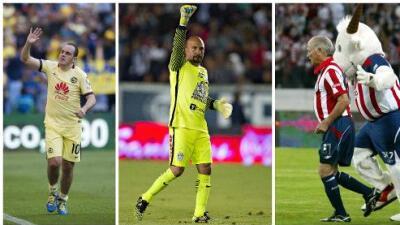 Los cinco futbolistas de más edad en jugar en la Liga MX