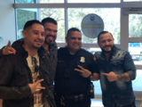 El 'encontronazo' del Grupo Solido con un agente de la policía de San Antonio