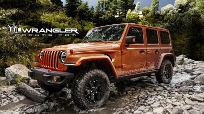 ¿Es esta la nueva Jeep Wrangler 2018?