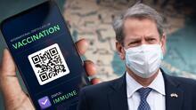 Gobernador Brian Kemp firma orden ejecutiva que prohíbe exigir pasaporte de vacunación