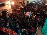 """""""Orville ponte la máscara"""", gases lacrimógenos afectan a la prensa durante manifestaciones."""