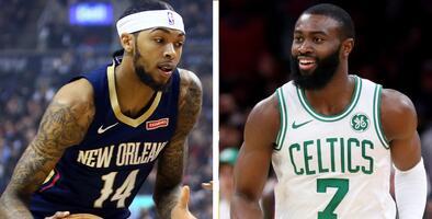 Jaylen Brown y Brandon Ingram nombrados Jugadores de la Semana en la NBA