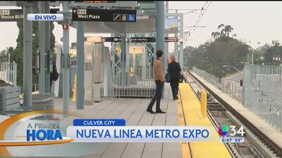 Comienzan pruebas de nueva línea del Metro