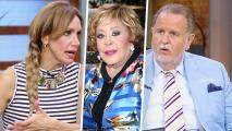 Lili y Raúl creen que Silvia Pinal no está enterada de todo el caso de Frida Sofía y su abuelo