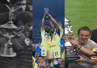 Los festejos de los 13 campeonatos de América
