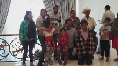Familia que se fotografió en Los Pinos y se hizo viral, recuerda con emoción su experiencia en la residencia