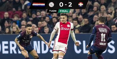 Sin Edson Álvarez, Ajax sufre su primera derrota