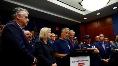 El Senado aprueba fondo de ayuda permanente para rescatistas y víctimas del 9/11