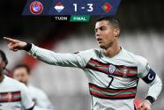 Cristiano Ronaldo anotó y encaminó remontada de Portugal