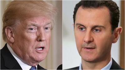 """Trump califica de """"animal"""" al presidente de Siria tras el posible ataque con armas químicas"""