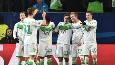 Wolfsburgo 1-0 Gante: Los Lobos confirmaron su boleto a cuartos de la Champions