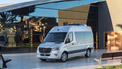 Esta es la nueva Mercedes-Benz Sprinter 2019 en imágenes