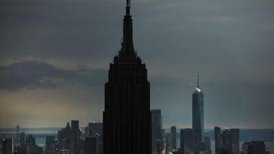 Cielos parcialmente nublados tendrá Nueva York en la noche de este lunes, con bajas posibilidades de lluvia
