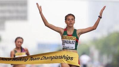 Alegna González da segundo oro a México en la Copa Mundial de marcha en China