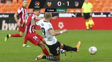 Con autogol de Toni Lato, Atlético de Madrid vence al Valencia