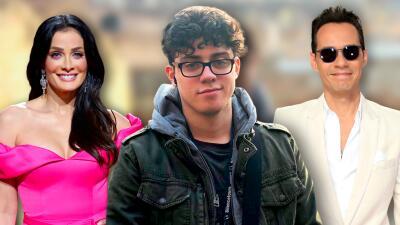 El hijo mayor de Dayanara Torres y Marc Anthony ya tiene novia y está de romántico aniversario