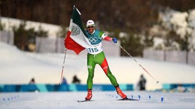 ¡Piel de gallina! Mexicano fue ovacionado a pesar de finalizar último en Pyeongchang