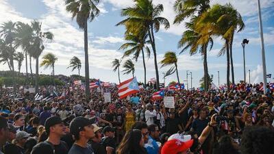 Rosselló dice que respeta las protestas, pero que no renunciará la gobernación de Puerto Rico