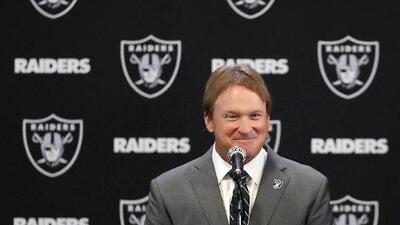 """Jon Gruden: """"Estoy listo para regresar a Raiders al buen camino"""""""