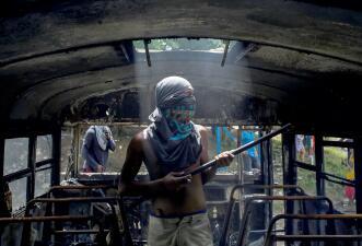 El paro en medio de la violencia: Miles de comercios en Nicaragua cierran para presionar a Daniel Ortega (fotos)