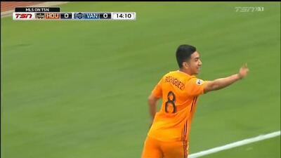 Memo Rodríguez encamina y sella la victoria de Houston Dynamo con un doblete