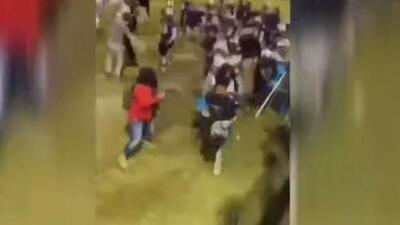 Piden interponer cargos criminales a jugadores involucrados en pelea entre equipos rivales de preparatoria